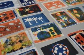 « قيم زايد » معرض يحتفي بإبداعات 45 من الفنانين الصغار