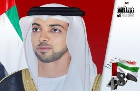 منصور بن زايد: الثاني من ديسمبر يوم لتعزيز التلاحم بين الشعب وقيادته