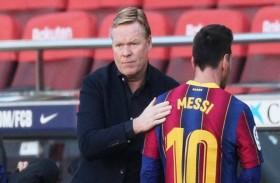 كومان: ميسي كان  «طاغية» في برشلونة