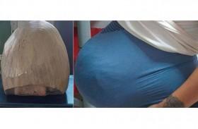 امرأة حامل في 4 كيلو مخدر !