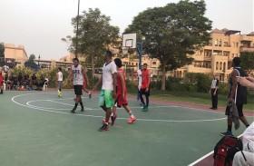 منافسات قوية في بطولة السلة ضمن مبادرة الروح الإيجابية