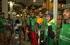 فريق شرطة دبي للتزلج يشارك في أولى بطولاته الجمعة المقبلة