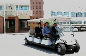 محاكم رأس الخيمة تسعد متعامليها بمبادرة النقل المجاني