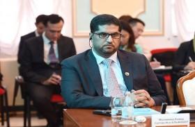 سفير الدولة يحضر إحاطة للخارجية الكازاخستانية حول حقوق العمال المغتربين
