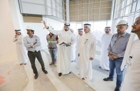 سعيد محمد الطاير يزور مشروع «مركز الابتكار» لمتابعة تقدم سير الأعمال