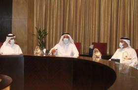 مجلس إدارة غرفة الشارقة يؤكد أن الاستراتيجية الوطنية للصناعـة نقلـة نوعيـة نحـو التنمية الاقتصاديـة المســتدامة