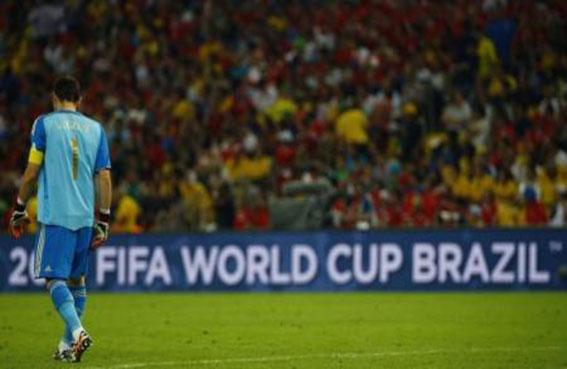 اسبانيا تودع كأس العالم بعد الهزيمة أمام تشيلي 2 - صفر