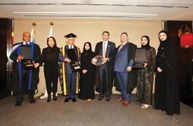 طالبات جامعة أبوظبي يشاركن في رحلة تعليمية إلى اسكتلندا