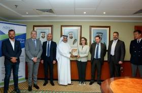 سوق أبوظبي للأوراق المالية يستضيف أعضاء مجموعة الأعمال الفرنسية في أبوظبي ويناقش آفاق الاستثمار