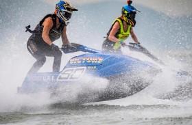 الفيكتوري ينافس على لقب بطولة العالم للدراجات المائية في الشارقة