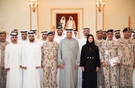 سعود بن صقر: إعداد وتأهيل القيادات الإماراتية العسكرية والمدنية أهمية قصوى