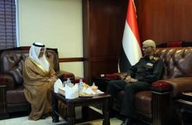 سفير الدولة يلتقي وزير الدفاع السوداني