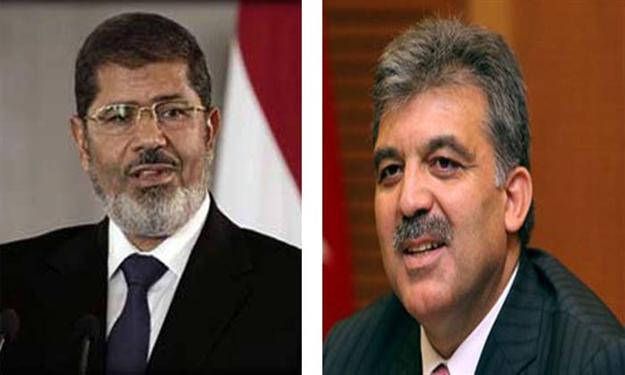 قمة مصرية - تركية لبحث الأزمة في سوريا وتطورات القضية الفلسطينية