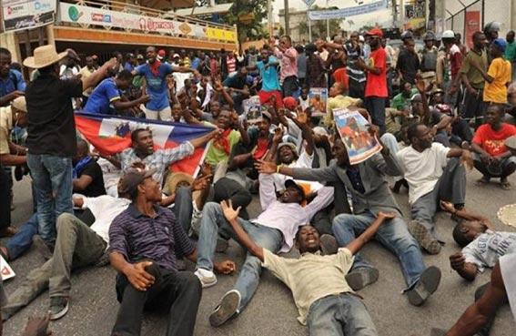 الاحتجاجات تؤجج أزمة سياسية في هايتي