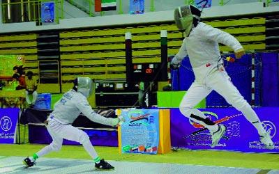 ختام بطولة اتحاد الإمارات للمبارزة المفتوحة للعمومي برأس الخيمة