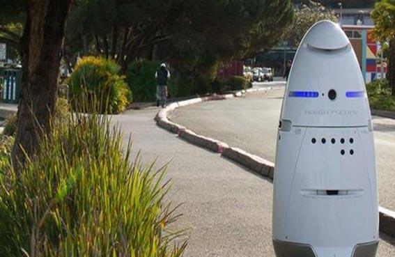 روبوتات لحماية مقر مايكروسوفت