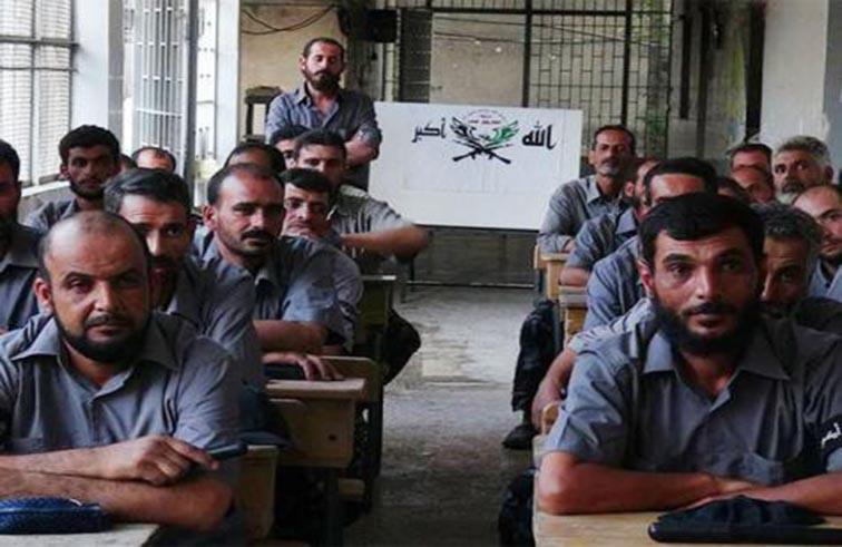 شرطة ثورية لتنظيم المرور في غوطة دمشق