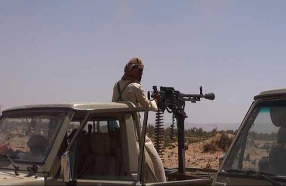 الحوثيون يعززون مواقع القتال مع الجيش في الجوف